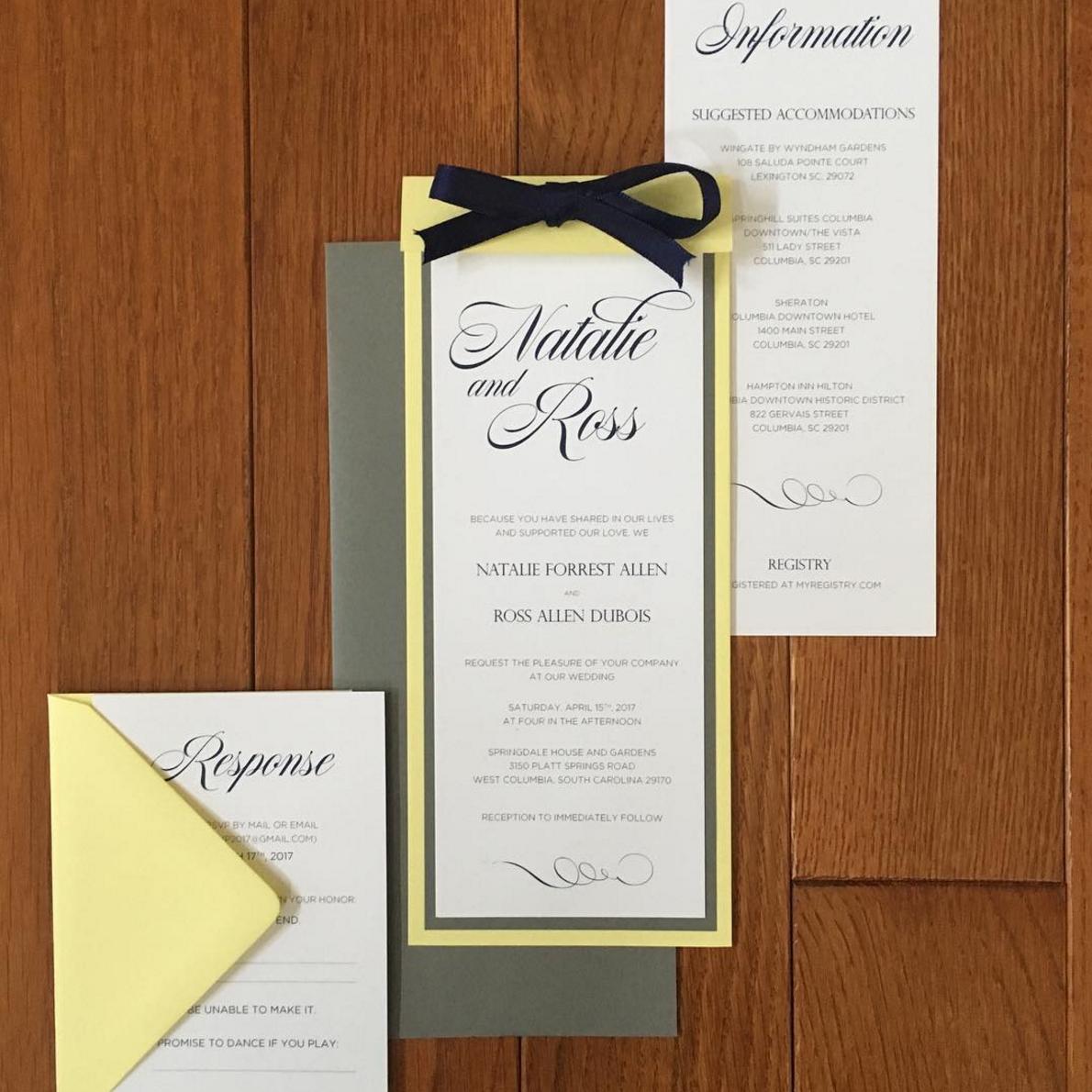 Invitations - Chris P. Design